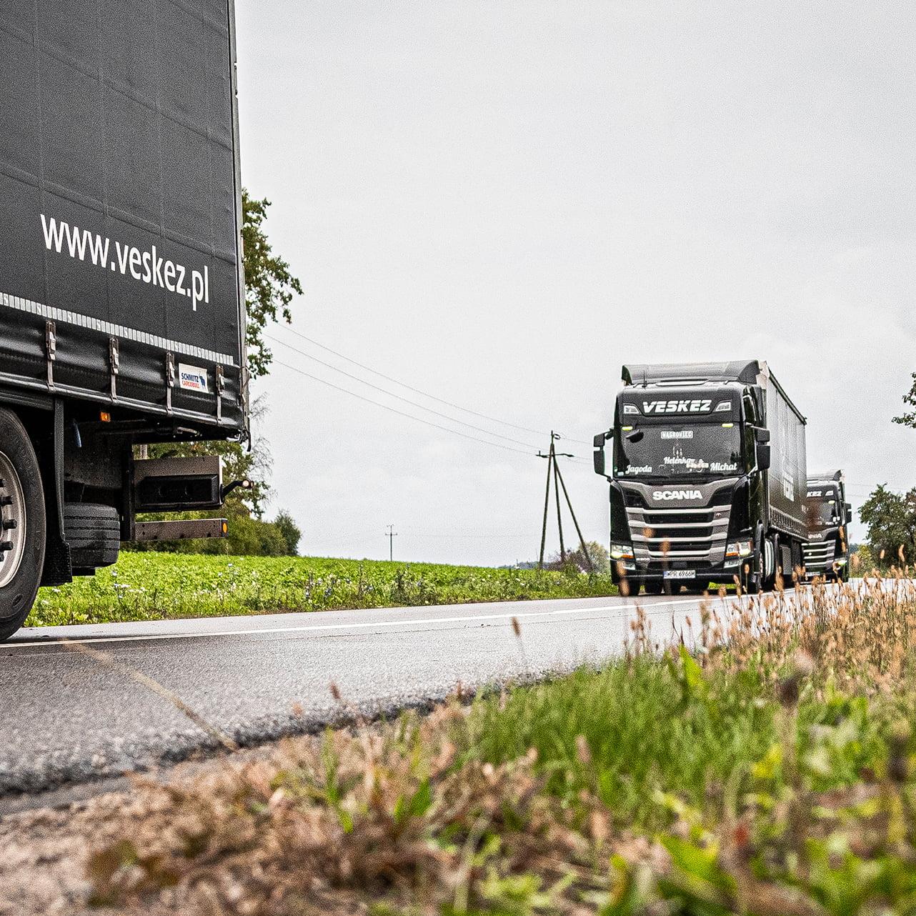 Veskez - transport ładunków drobnicowych